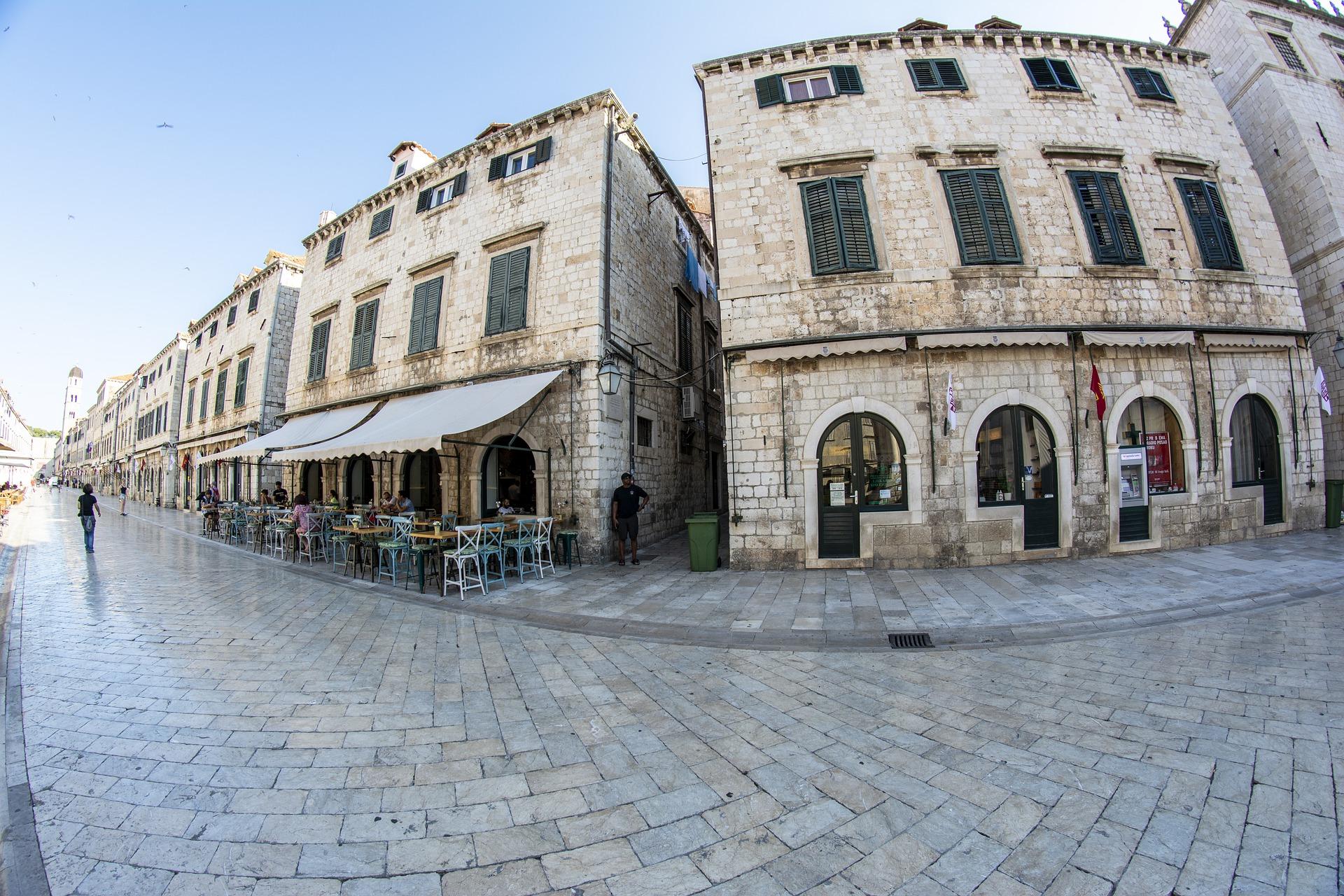 Le vie del centro storico